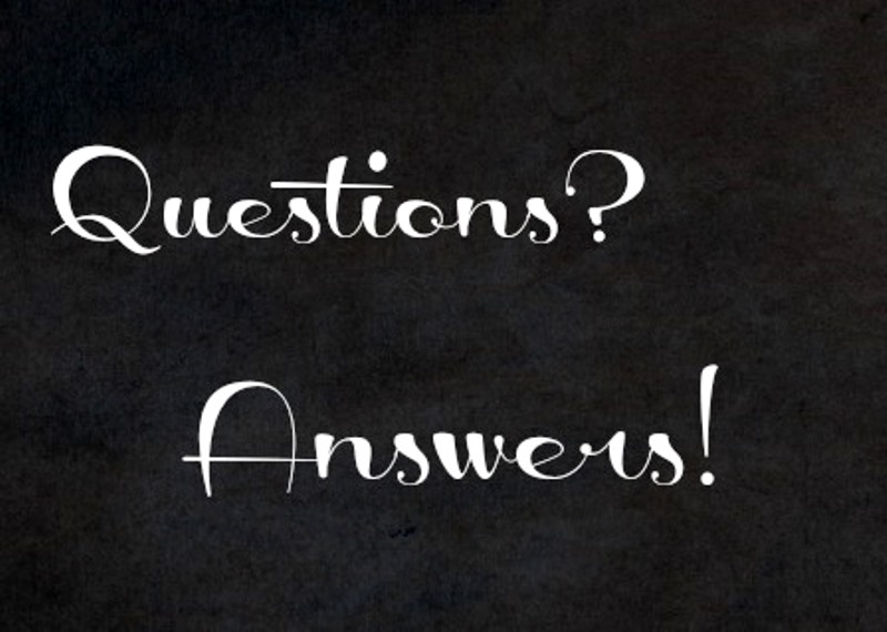 If you have a question you'll get the answer!
