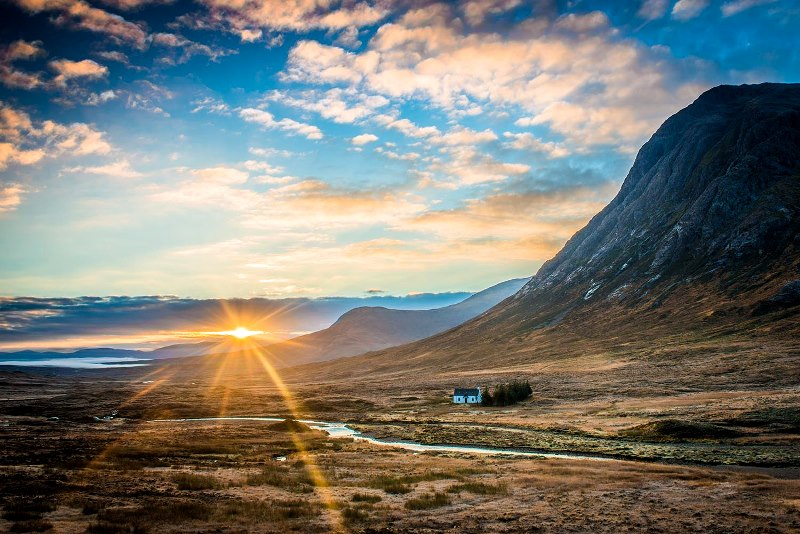 Breathtaking landscapes: Glencoe